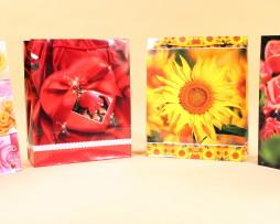 torba na prezenty kwiaty