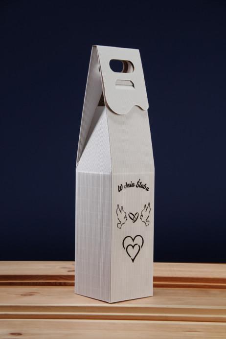 Pudełko do wina białe SR3