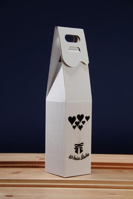 Pudełko do wina białe SR1