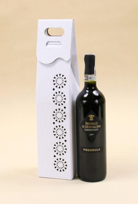 Pudełko do wina białe R3