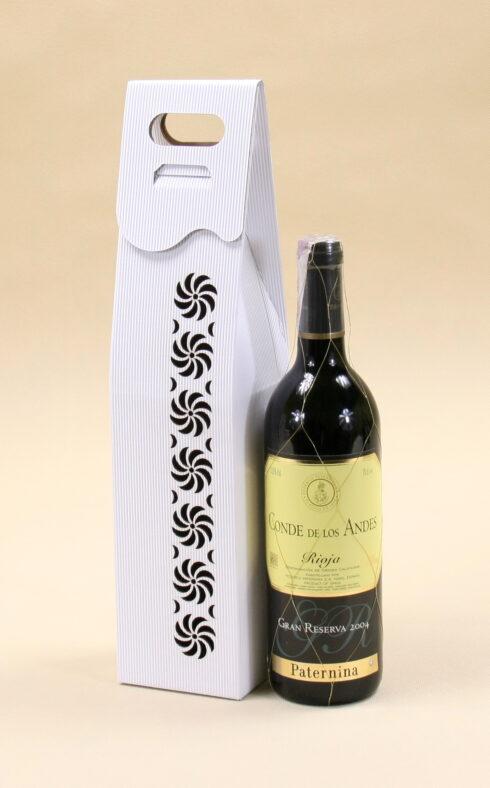 Pudełko do wina białe R4