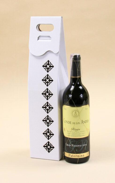 Pudełko do wina białe R5