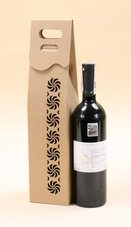 Pudełko do wina szare Rs3