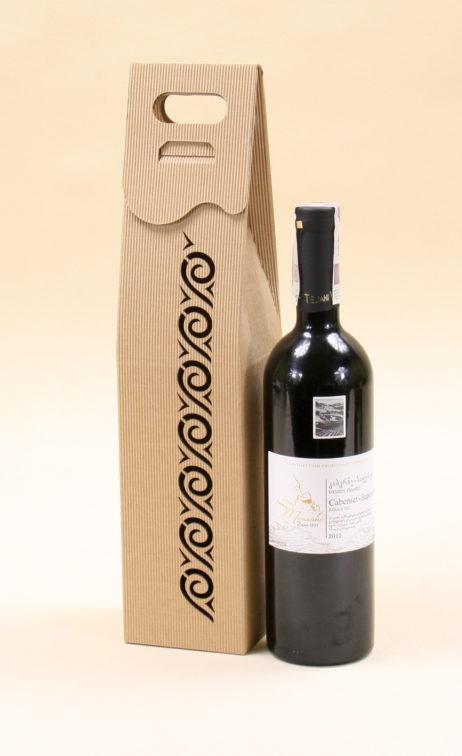 Pudełko do wina szare Rs4