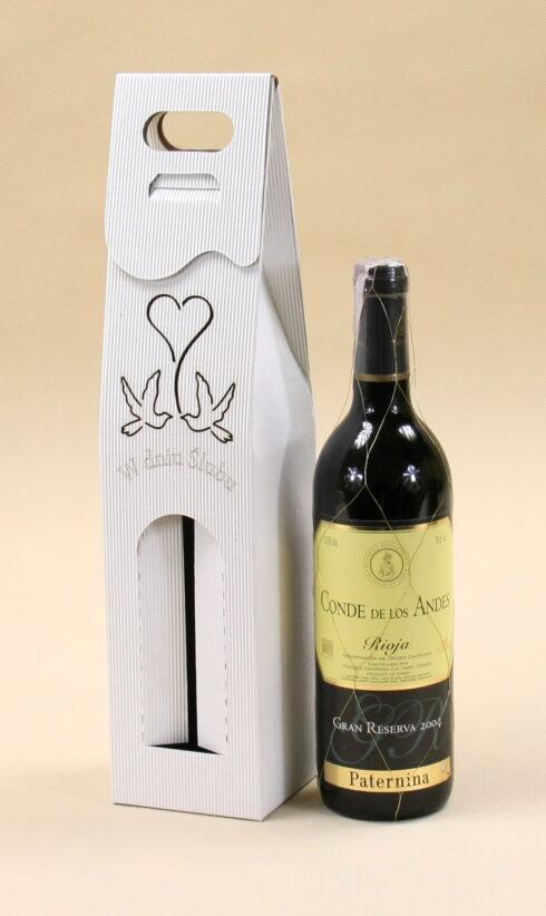 Pudełko do wina białe R8
