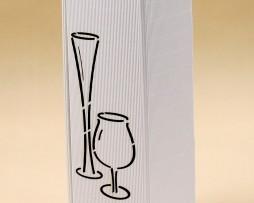 Pudełko do wina białe Gb3