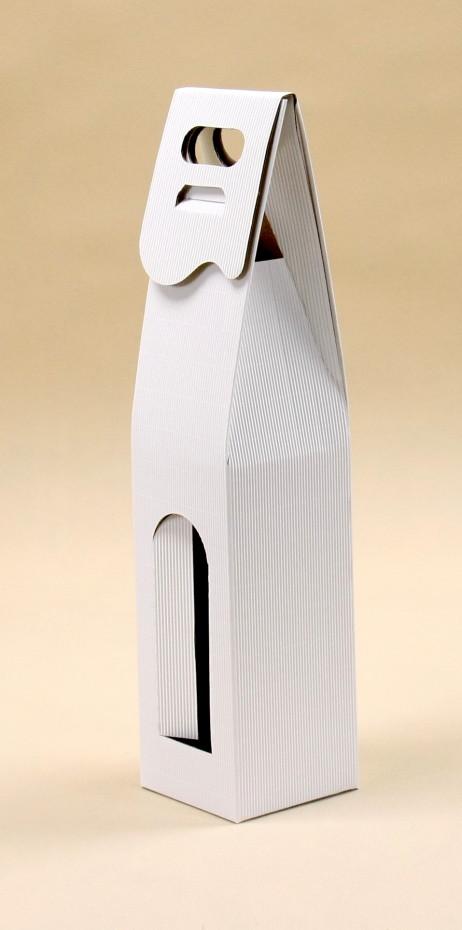 Pudełko do wina białe R1