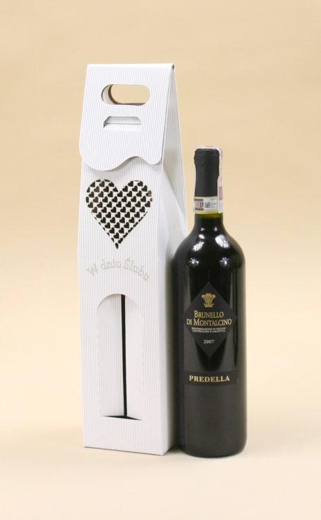 Pudełko do wina białe R2