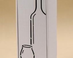Pudełko do wina białe Gb4