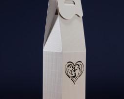 Pudełko do wina białe SR4