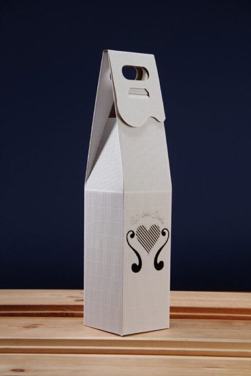 Pudełko do wina białe SR5