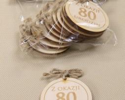 zawieszka z okazji 80 urodzin