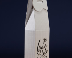 Pudełko do wina białe PS2