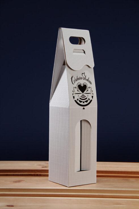 Pudełko do wina białe PS7