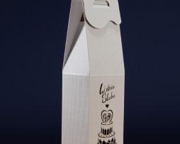 Pudełko do wina białe PS5