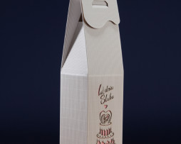 Pudełko do wina białe PS5R