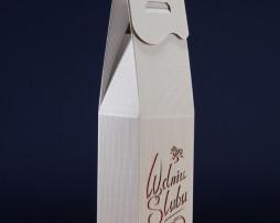 Pudełko do wina białe PS2R