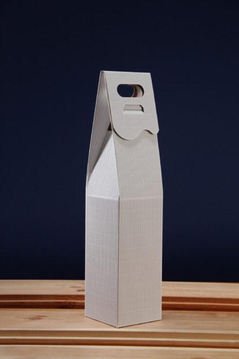 Białe pudełko do wina S1B