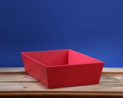 Koszyk 24x34 czerrwony
