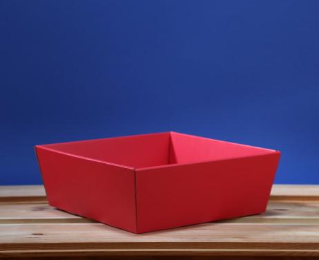 Koszyk 25x25 czerwony