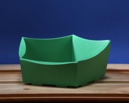 Koszyk duży zielony