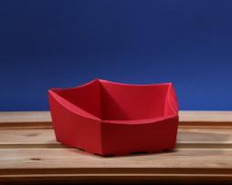 Koszyk mini czerwony