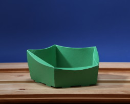 Koszyk mini zielony