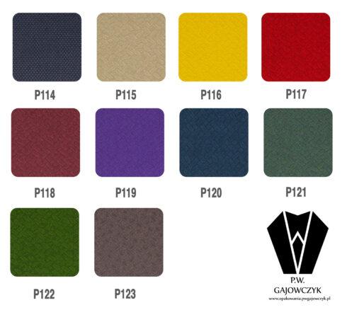 Wzory kartonów kaszerowanych