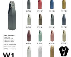 PUDEŁKO DO WINA W1-P136-148 STOŻEK W1 9x9x39 cm opakowania Gajowczyk
